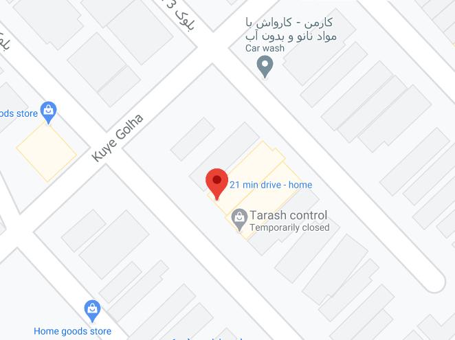karaj location